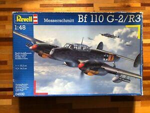 Revell 1/48 Messerschmitt Bf110 G-2/R3 Model Kit 04530