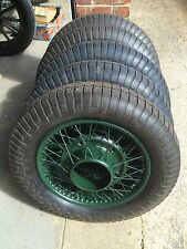 VIntage Classic Wheels Restoration - Armstrong Siddeley Wire or Disc Wheels