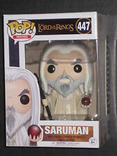 LORD OF THE RINGS SARUMAN FUNKO POP VINYL FIGURE CHRISTOPHER LEE NEW IN STOCK