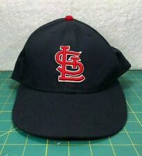 St Louis Cardinals New Era 59Fifty On Field Navy Blue Red Fitted Hat~Size 7 1/2