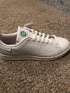 Adidas Stan Smith  Off White Green Size 7.5