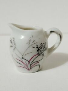 Vintage Miniature Creamer Pitcher Wheat from Child's Tea Set - Red Letter Japan