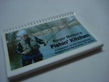 ROGER MALLON'S FISHIN' KITCHEN FISH AND SEAFOOD RECIPES BOOK OUTDOOR TV SHOW