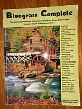 Bluegrass Complete Songbook 1997 Creative Concepts