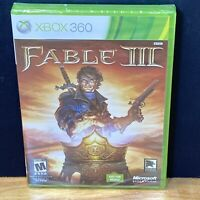 Fable III (3) (Microsoft Xbox 360, 2010) Not for Resale Version, Factory Sealed