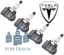 Set Of 4 Genuine Oem Tesla Model 3 Tpms Tire Pressure Sensors Kit 433mhz 4pcs