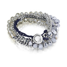 Chloe + Isabel Bead + Chain Multi-Wrap Bracelet - B079N - NEW -