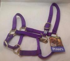 Perris Premium Nylon Halter - Purple, Cob, 170Cpu