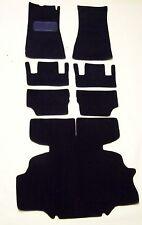 1971-1974 DATSUN /NISSAN  240Z, 260Z 7pc. LHD REPLACEMENT  BLACK LOOP CARPET KIT