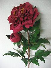 Dekoration 6 x Gigant Pfingstrose 95 cm künstliche Rose künstlich Deko wie echt