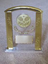 "Tennis (or any SPORT) 7"" Acrylic Award Trophy FREE custom engraving"