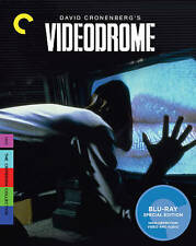 Videodrome (Blu-ray Disc, 2010, Criterion Collection)