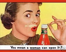 Del Monte Ketchup - Vintage Ad Fridge Magnet