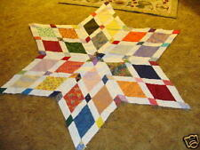 Plastic Templates - Web of Diamonds quilt