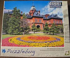 "Puzzle Bug 1000 pc jigsaw puzzle 23x18 ""Old Hokkaido City Hall, Japan"""