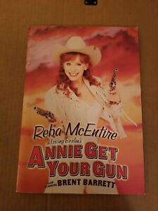 Reba McEntire In Annie Get Your Gun Play Program 2001