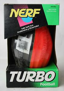 VERY RARE VINTAGE 1992 NERF TURBO FOOTBALL KENNER NEW SEALED !