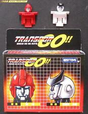 Transformers custom encore 05 06 tfe 05 06 ironhide ratchet head LOOSE