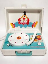Vintage 1960s General Electric Youth Electronics Clown Record Player RP3126B