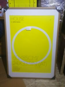 John Lewis Wood Picture Frame With Mount. 70x100cm. New