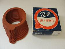 Vintage Ball 12 Regular Split Tab Jar Rubbers