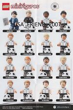 LEGO 71014 MINIFIG LIMITED EDITION - GERMAN SOCCER TEAM - ALL 16 MINIFIGURES -
