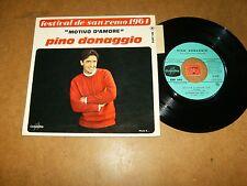 PINO DONAGGIO - EP FRENCH COLUMBIA 1493  / LISTEN - ITALIAN POPCORN