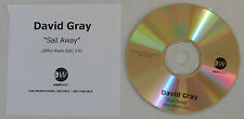 David Gray - Sail Away (Biffco Radio Edit) - U.K. Promo CD Single