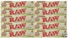 Raw Organic Kingsize Rolling Papers King Size Hemp Paper 10 Packs