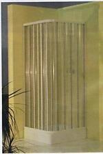 BOX DOCCIA IN PVC ESTENSIBILE A DUE LATI PER PIATTI CM. 70X70 - 80X80