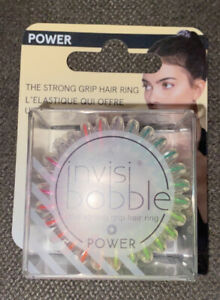 Invisibobble Power Hygienic Traceless Design Strong grip Magic🌈Rainbow Hair Tie