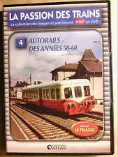 DVD TRAINS / LA PASSION DES TRAINS N° 4 / AUTORAIL DES ANNEES 50-60 / TB ETAT