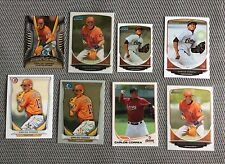 8 CARD CARLOS CORREA ROOKIE BASEBALL CARD LOT INCLUDING 2013 TOPPS PRO DEBUT