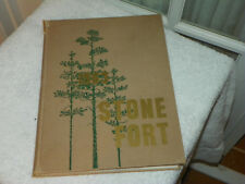 1963 STEPHEN F AUSTIN UNIVERSITY SFA Nacogdoches TX Yearbook Annual Stone Fort