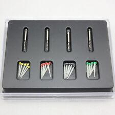 1 Box Dental Fiber Set 20 pcs Fiber Post & 4 Drills Dentist Product Hot Sale