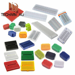 25/55/170/270/400/700/830 Mini Colorful Breadboard Prototype Develop Plates L3AU