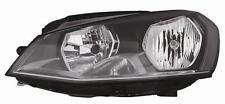 FARO SINISTRO SX H7-H15 C/MOTOR ELETTRICO VW GOLF 7 10/12> PARABOLA NERA
