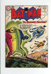 BATMAN #134 - The RAINBOW CREATURE - 1960 Early Silver Age