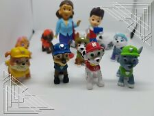 Lot de 12 Figurines Pat Patrouille
