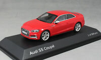 Paragon Models Audi S5 Coupe in Misano Red 5011615431 1/43 NEW Ltd Ed 999