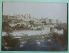 Photo ancienne Albumine - Carcassonne vue de la cité