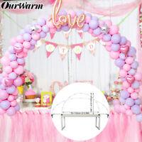 Balloon Arch Column Stand Frame Base Pole Ballons Clips Wedding Birthday Decor