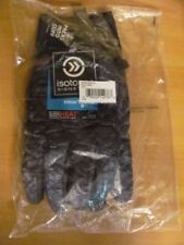 Isotoner Signature Men's Quilted Gloves Smartouch Sleek Heat Blue Camo S/M $55