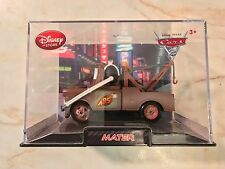 CARS 2 Disney Pixar MATER W/ HEADSET 1st EDITION ACRYLIC PLASTIC COLLECTOR CASE