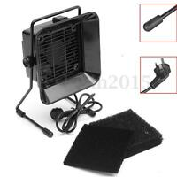 220V Smoke Absorber Extractor Fan + 3x Activated Carbon Filters Sponge Fume Kit