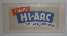 Atlantic Hi-Arc 9 Big Features 1 Great Gasoline ink blotter unused gas & oil