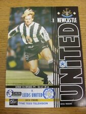 25/11/1995 Newcastle United v Leeds United  . Condition: Listed previously in br