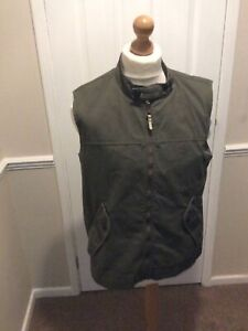 Timberland Gillet Thick Canvas Body-warmer Jacket Size L VGC
