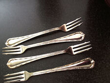 8 RITZ CARLTON Seafood Forks International Silver Co Silverplate