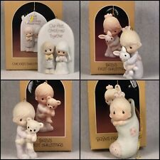 Precious Moments Replacement Commemorative Ornaments First Christmas 1980s 1990s
